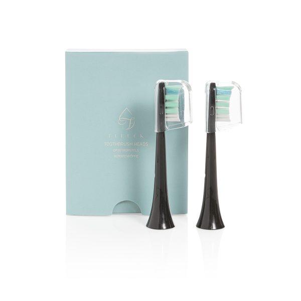 Fleeck-Bürstenköpfe-Elektrische Zahnbürste Nachfüllpackungen-2-teilig