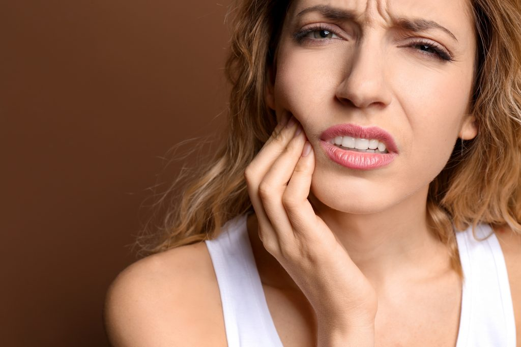 Gevoelige tanden na het bleken