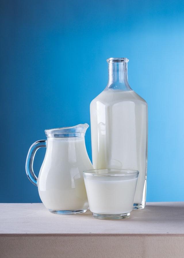 melk drinken tanden wit