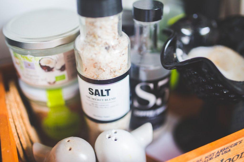 spoelen zout water