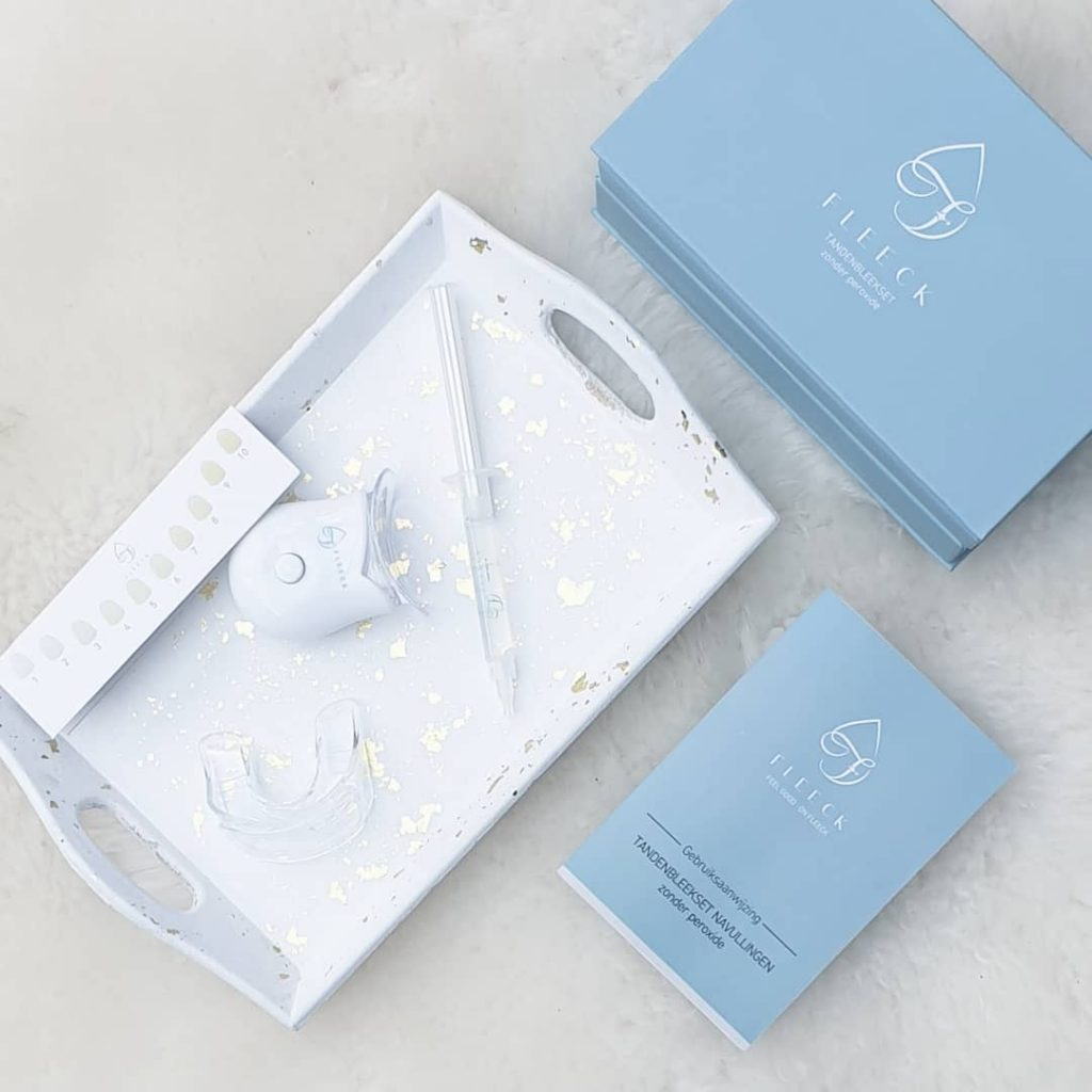 Teeth Whitening Kit Fleeck impression