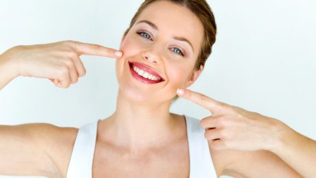 white teeth tips